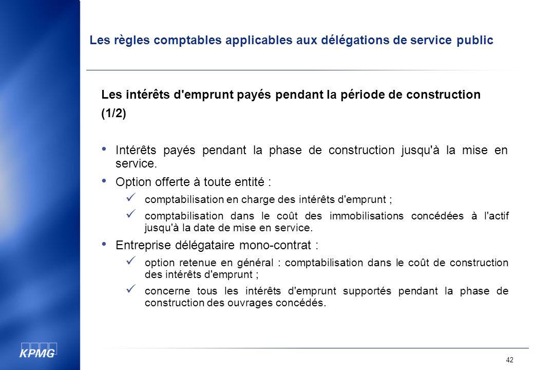 Les intérêts d emprunt payés pendant la période de construction (1/2)