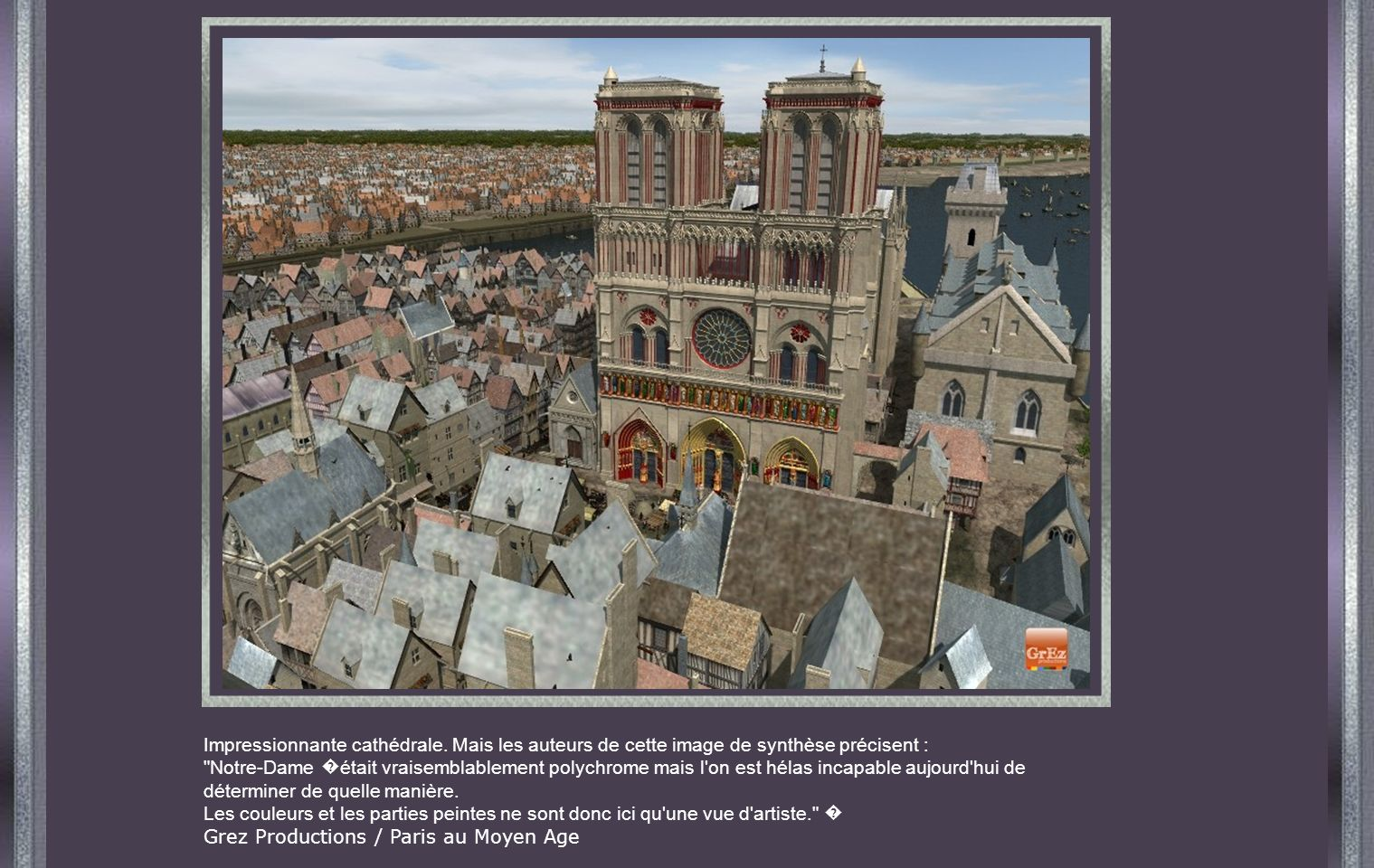 Impressionnante cathédrale