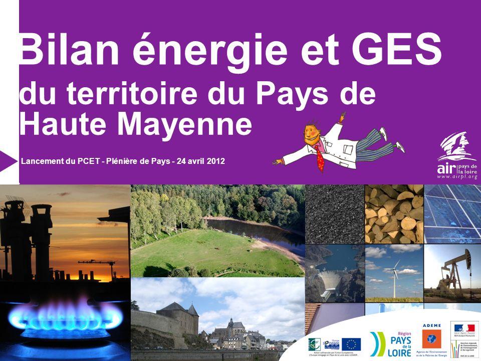Bilan énergie et GES du territoire du Pays de Haute Mayenne