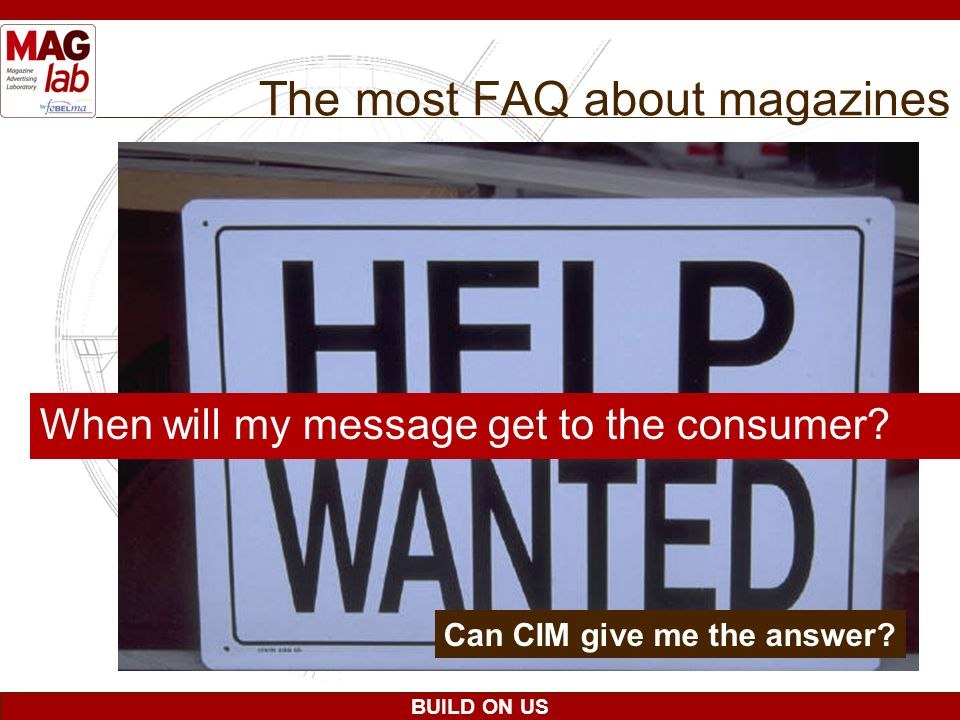 The most FAQ about magazines