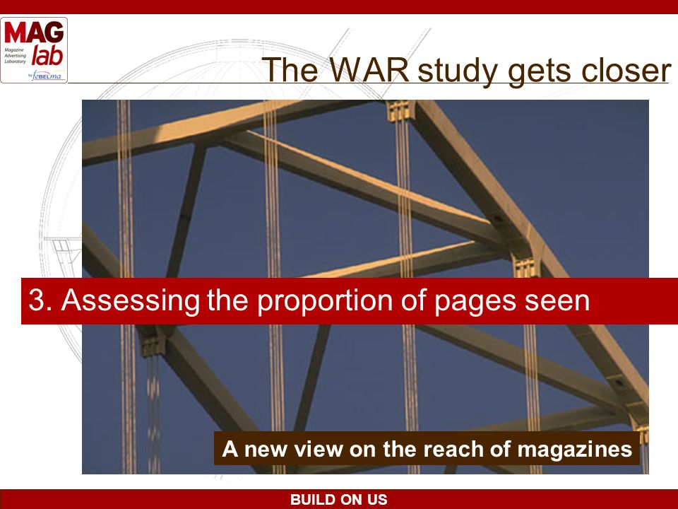 The WAR study gets closer