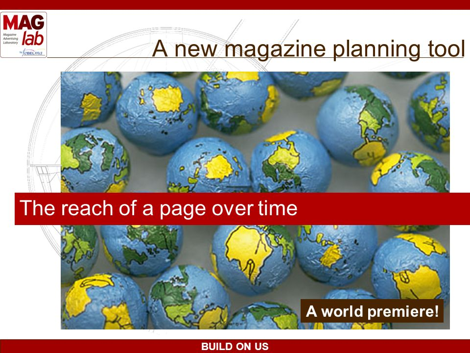 A new magazine planning tool