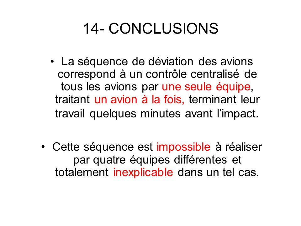 14- CONCLUSIONS