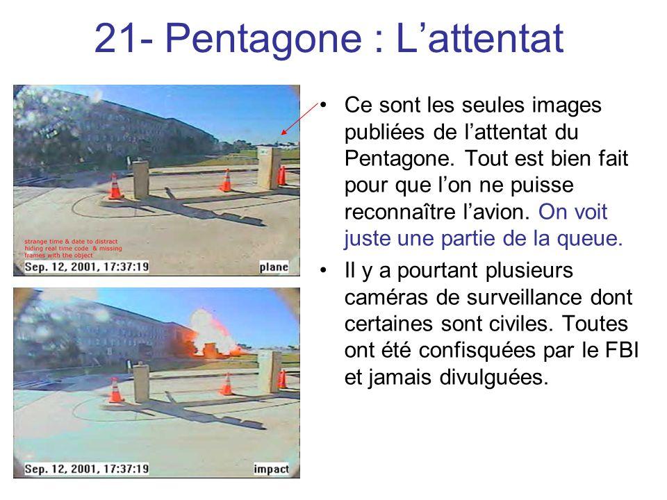 21- Pentagone : L'attentat