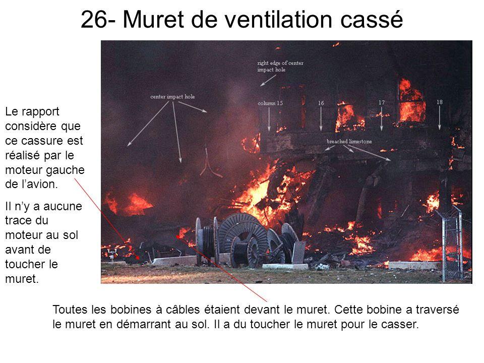 26- Muret de ventilation cassé