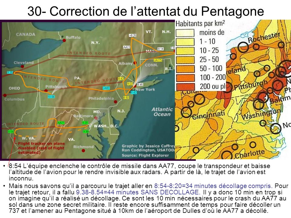 30- Correction de l'attentat du Pentagone