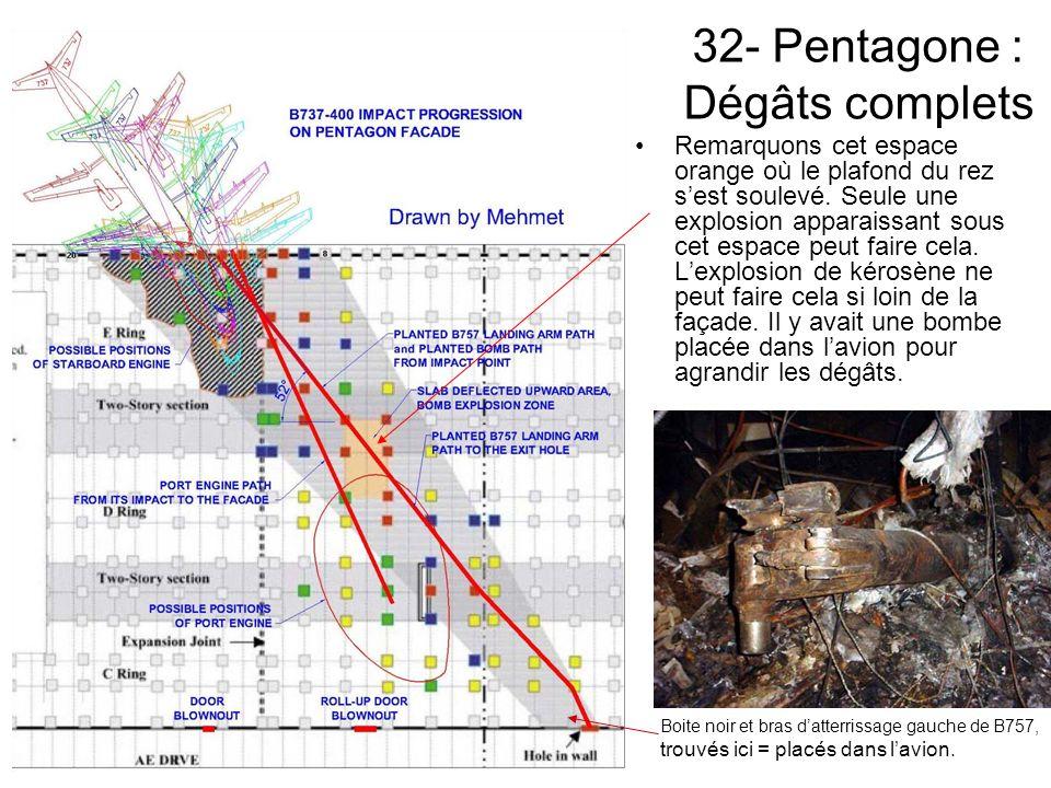 32- Pentagone : Dégâts complets