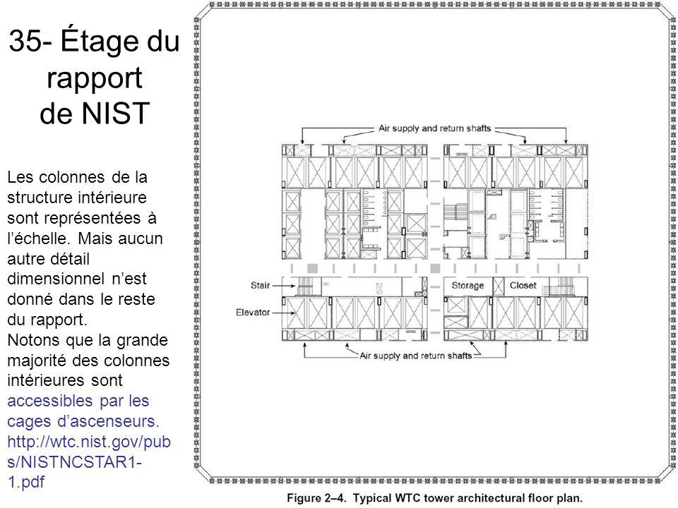 35- Étage du rapport de NIST