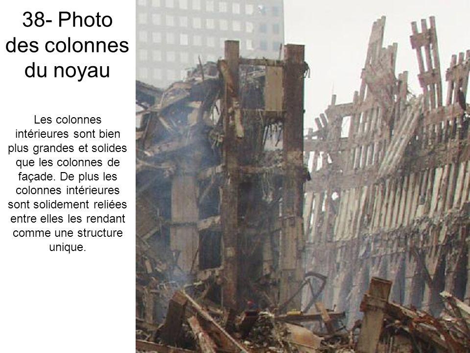 38- Photo des colonnes du noyau