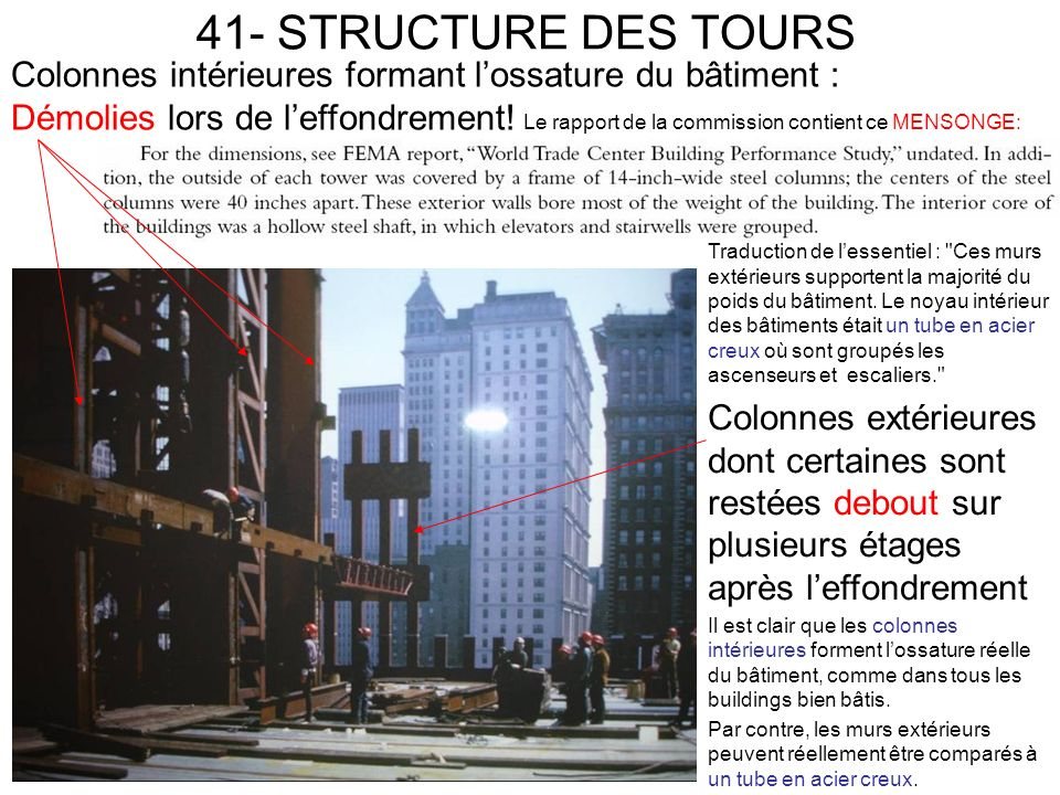 41- STRUCTURE DES TOURS