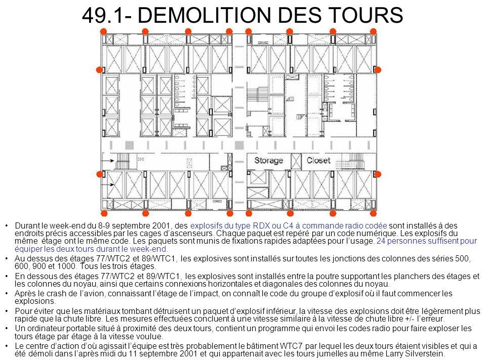 49.1- DEMOLITION DES TOURS