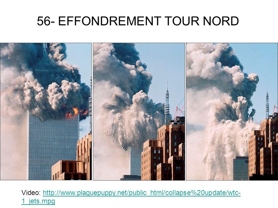 56- EFFONDREMENT TOUR NORD