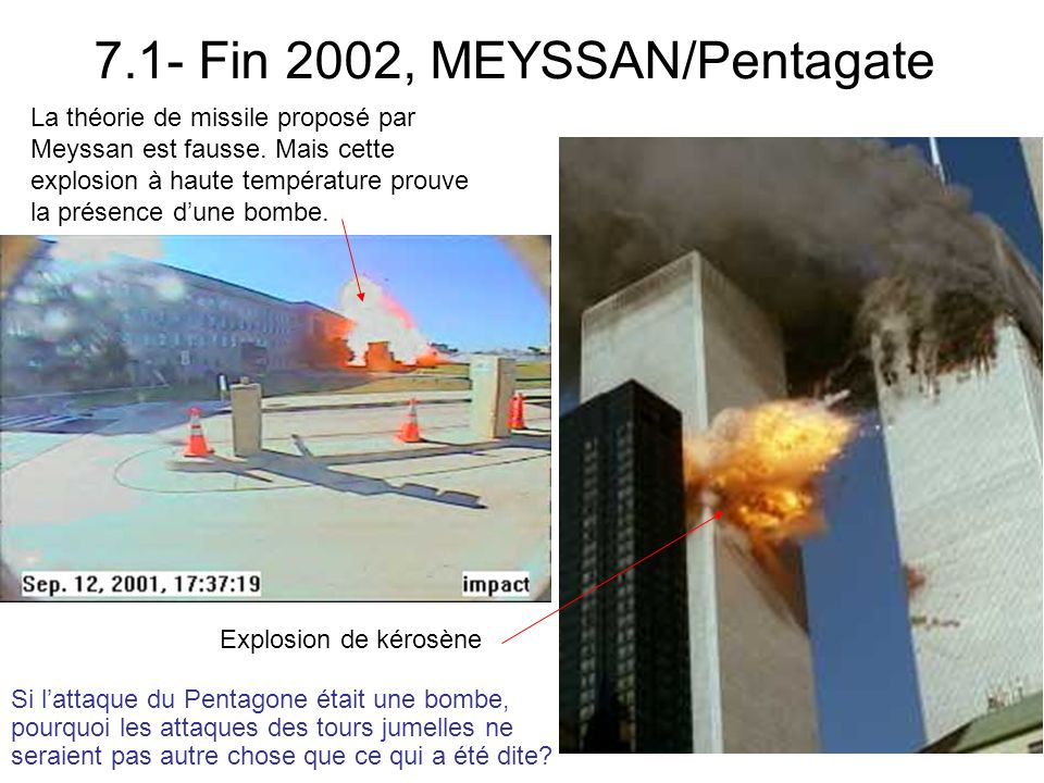 7.1- Fin 2002, MEYSSAN/Pentagate