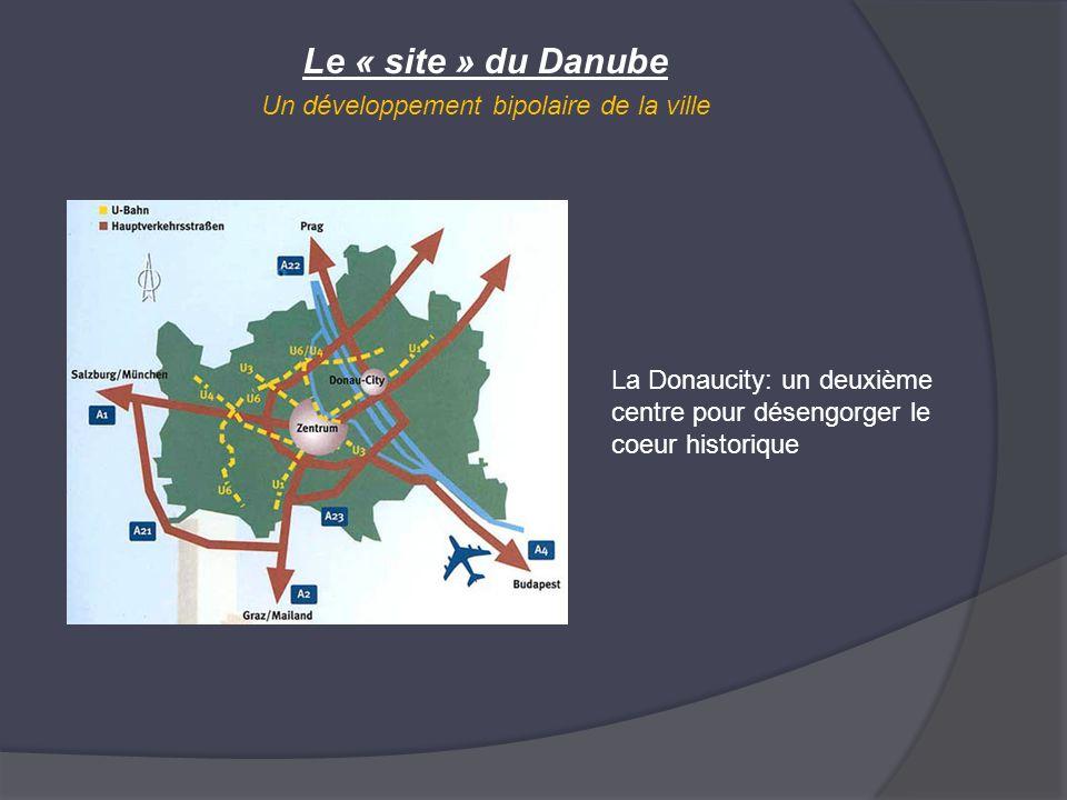 Le « site » du Danube Un développement bipolaire de la ville