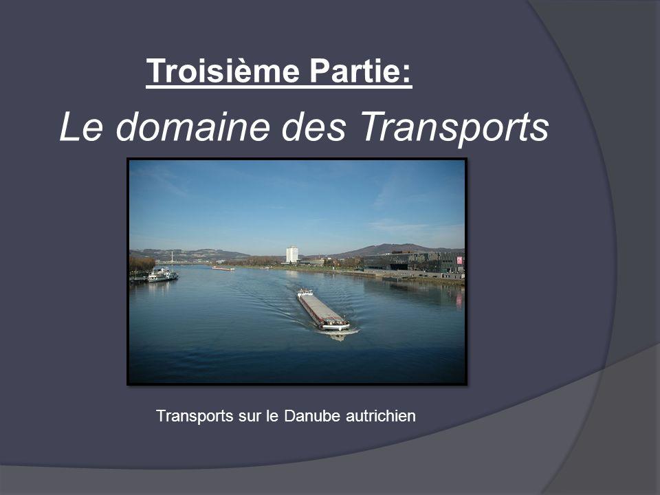 Le domaine des Transports