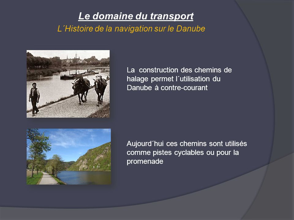 Le domaine du transport