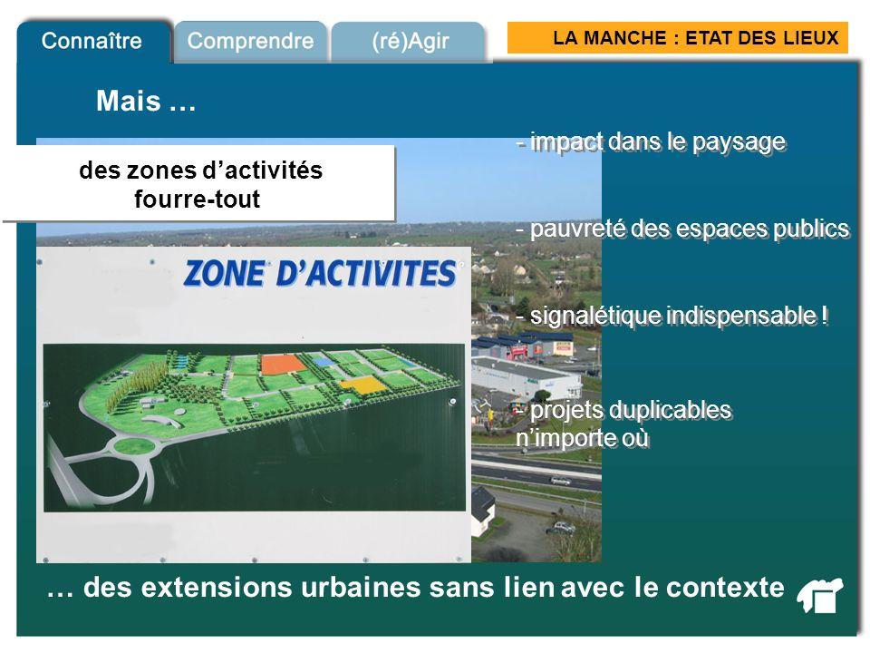 … des extensions urbaines sans lien avec le contexte
