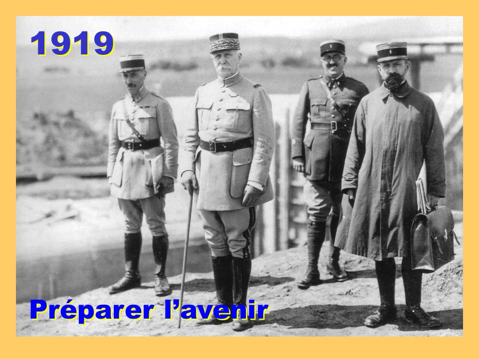 1919 Préparer l'avenir