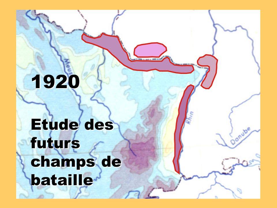 1920 Etude des futurs champs de bataille