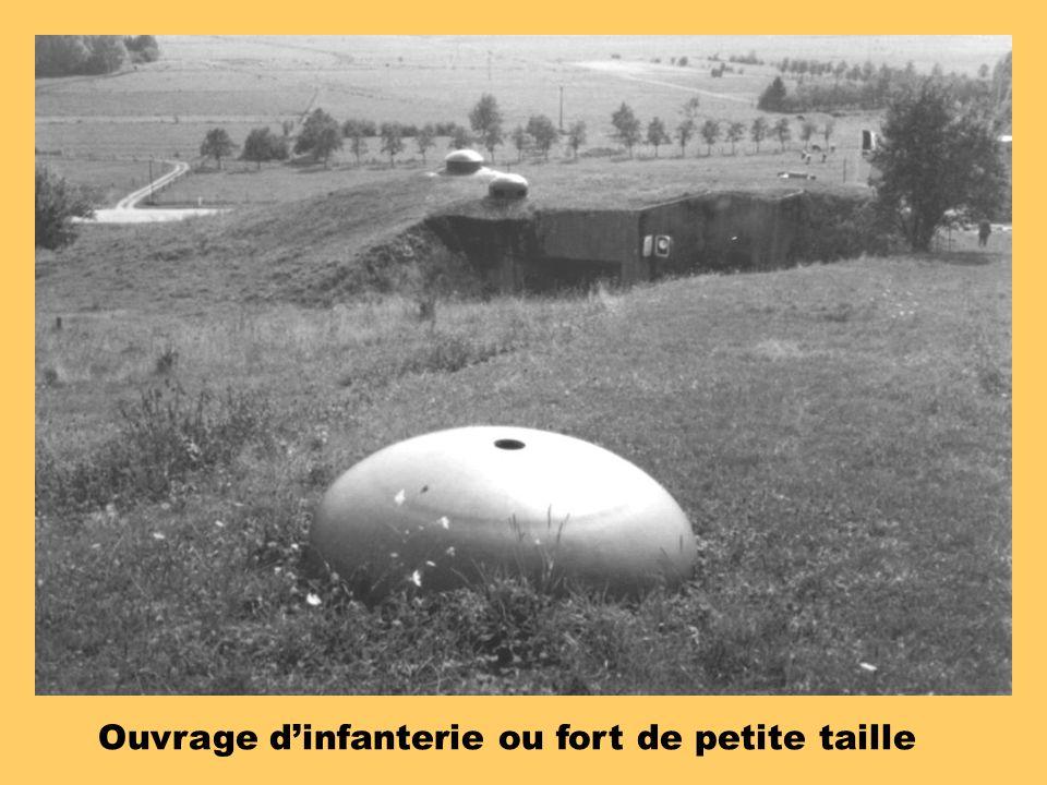 Ouvrage d'infanterie ou fort de petite taille