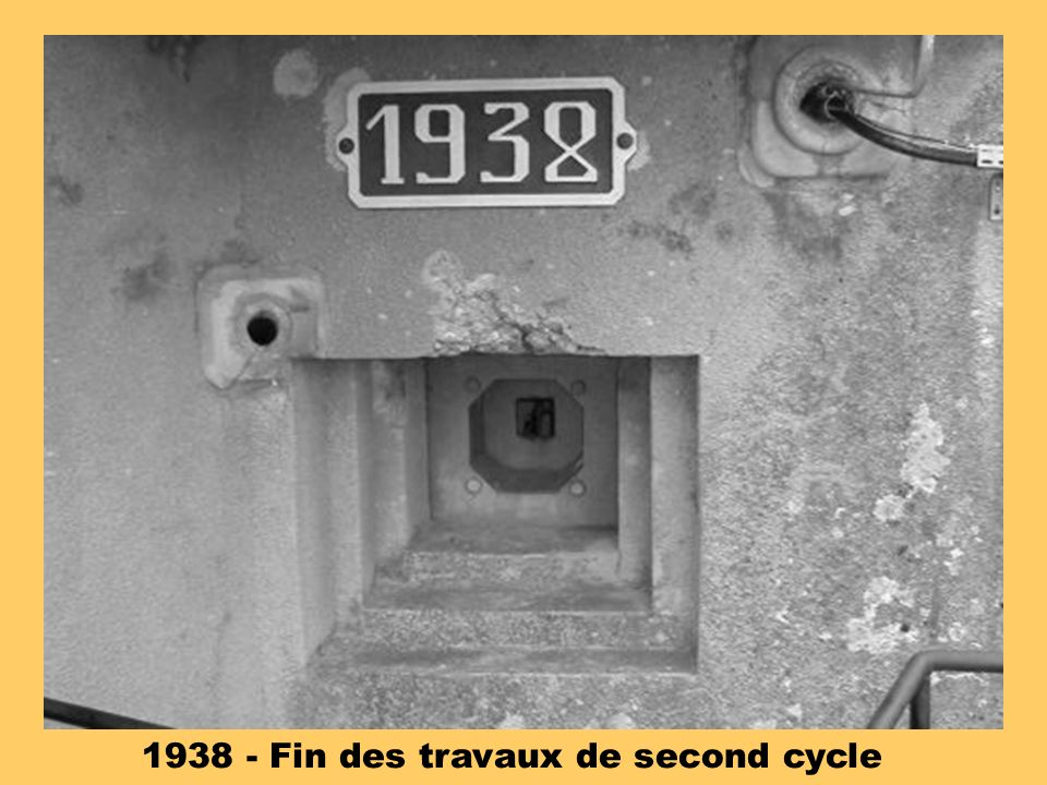 1938 - Fin des travaux de second cycle