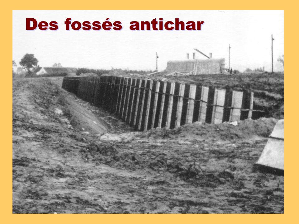 Des fossés antichar