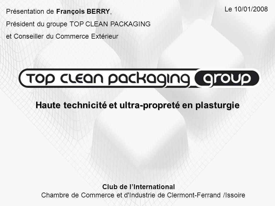 Haute technicité et ultra-propreté en plasturgie