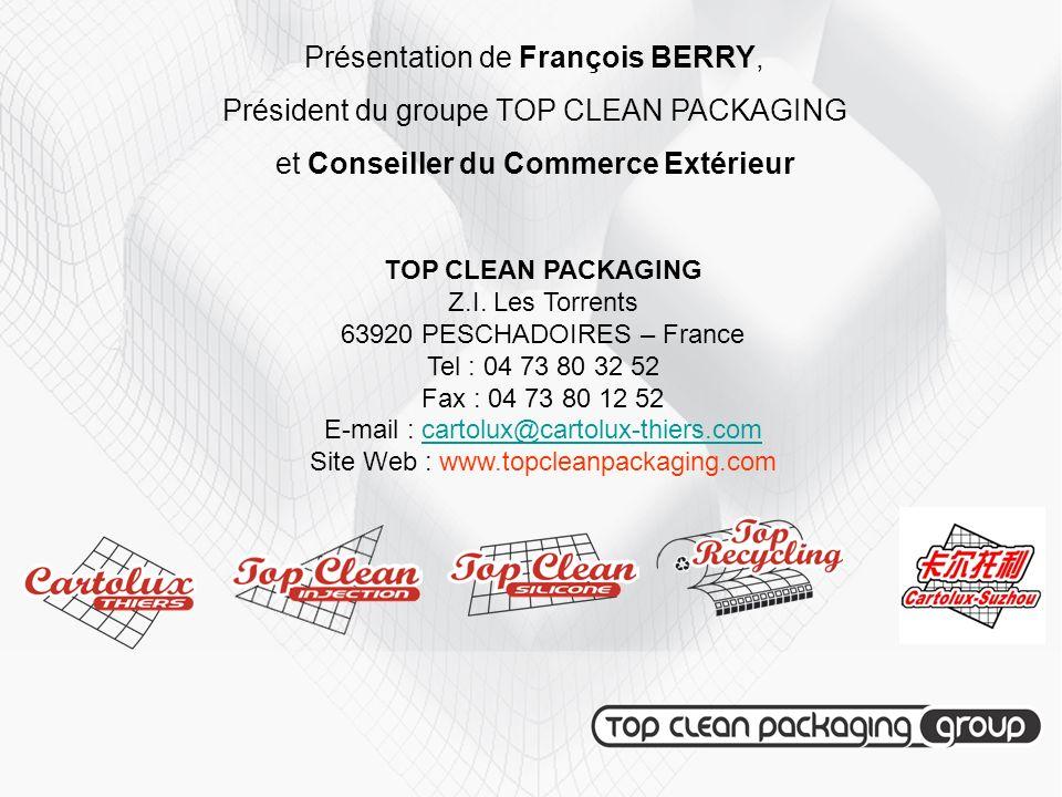 Présentation de François BERRY,