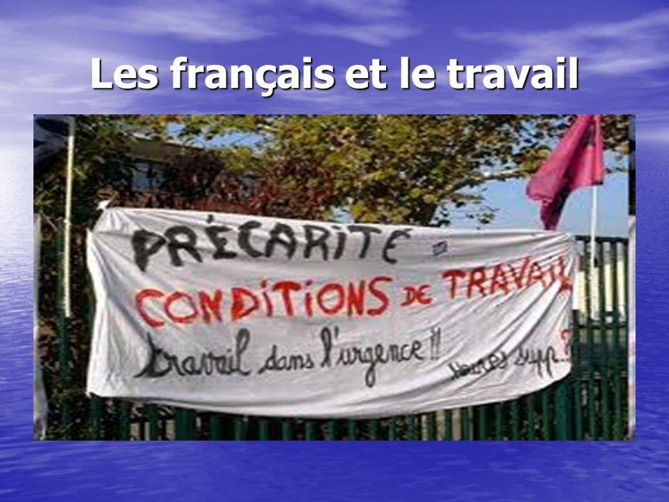 Les français et le travail