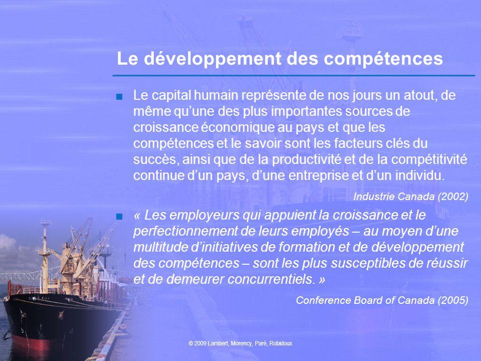 Le développement des compétences