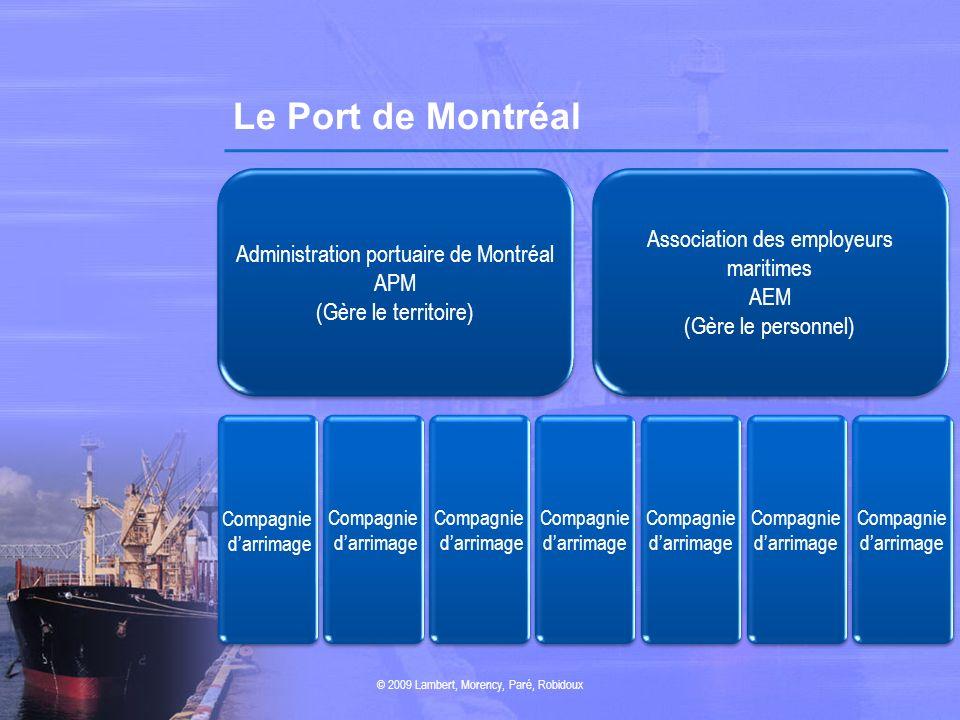 Le Port de Montréal Association des employeurs maritimes