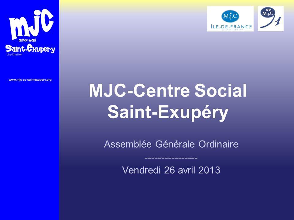 MJC-Centre Social Saint-Exupéry
