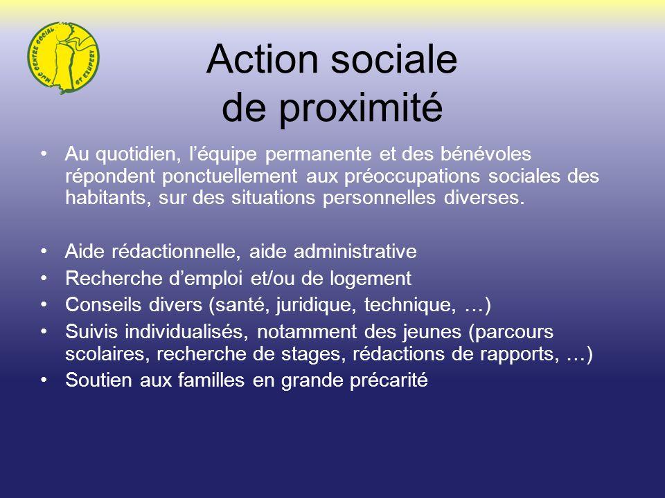 Action sociale de proximité