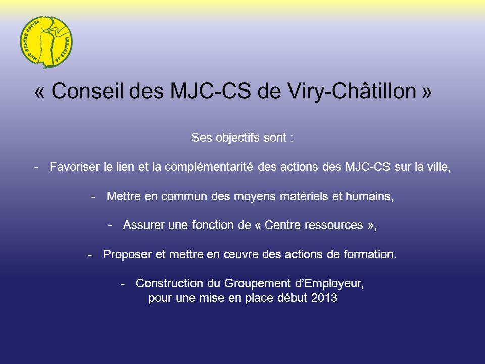 « Conseil des MJC-CS de Viry-Châtillon »