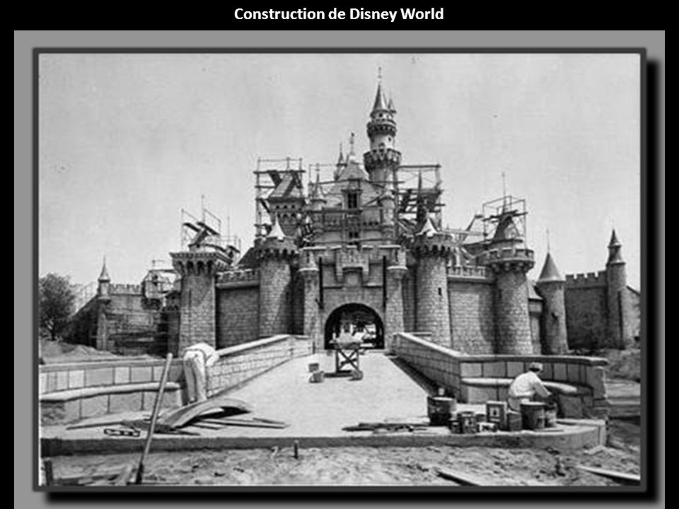 Construction de Disney World