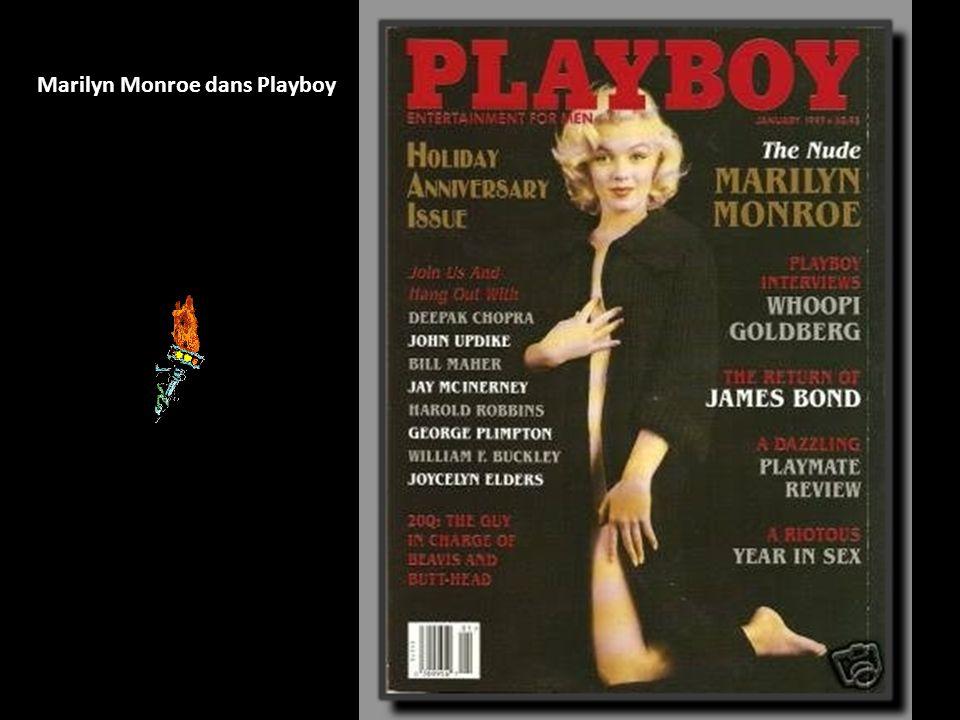 Marilyn Monroe dans Playboy