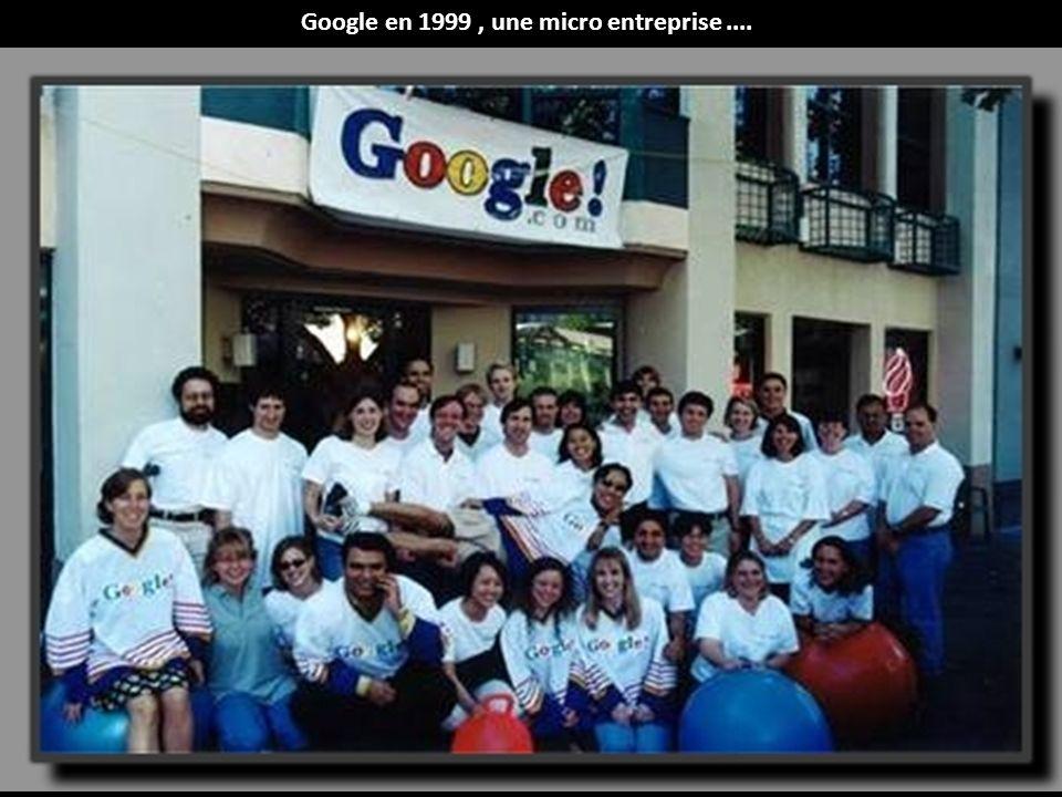 Google en 1999 , une micro entreprise ....