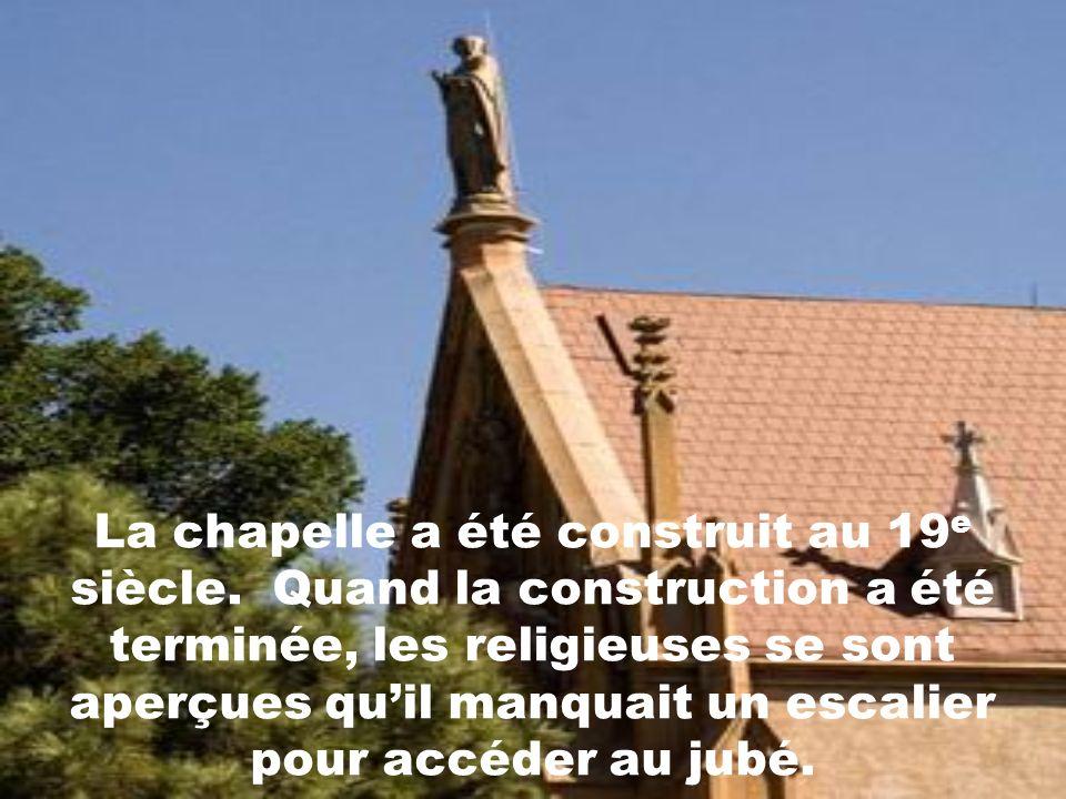 La chapelle a été construit au 19e siècle