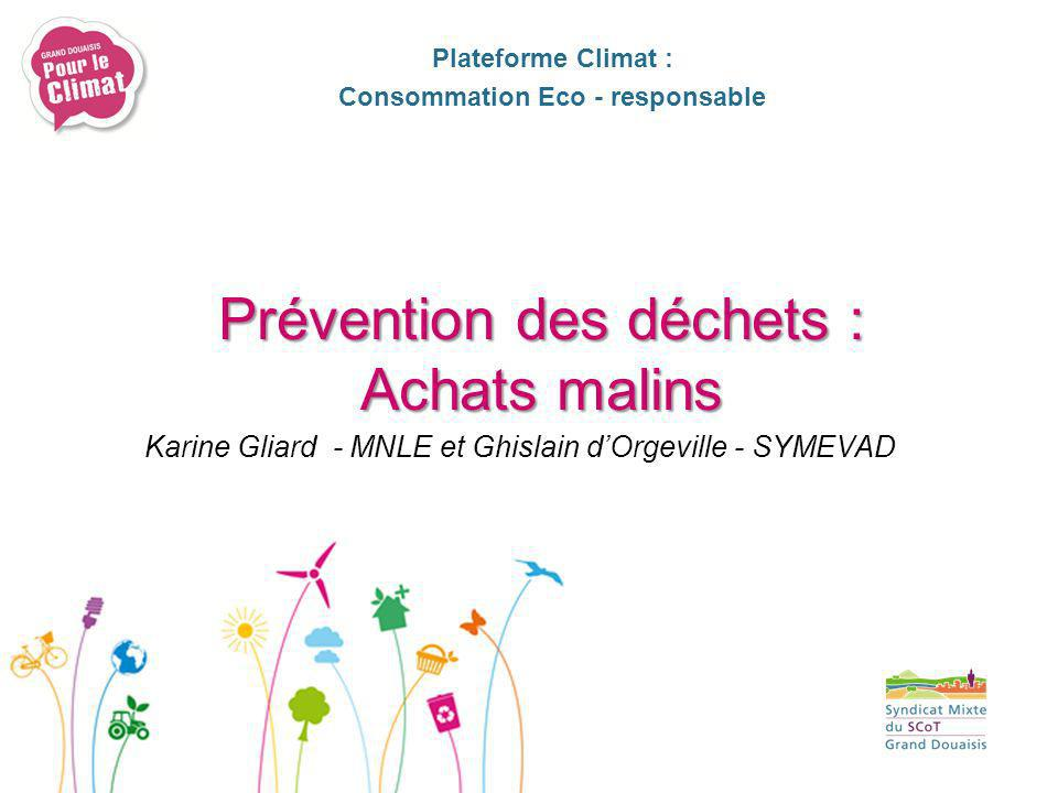 Consommation Eco - responsable