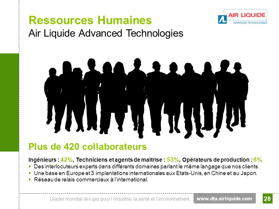Ressources Humaines Air Liquide Advanced Technologies