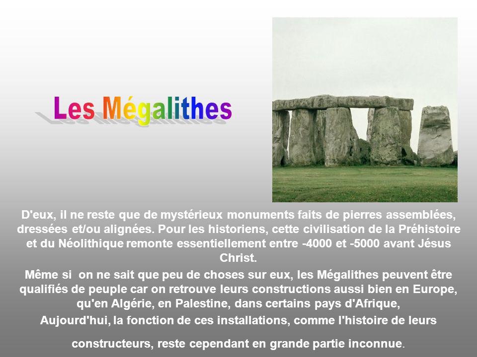 Les Mégalithes