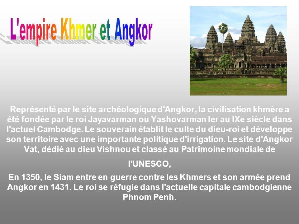 L empire Khmer et Angkor