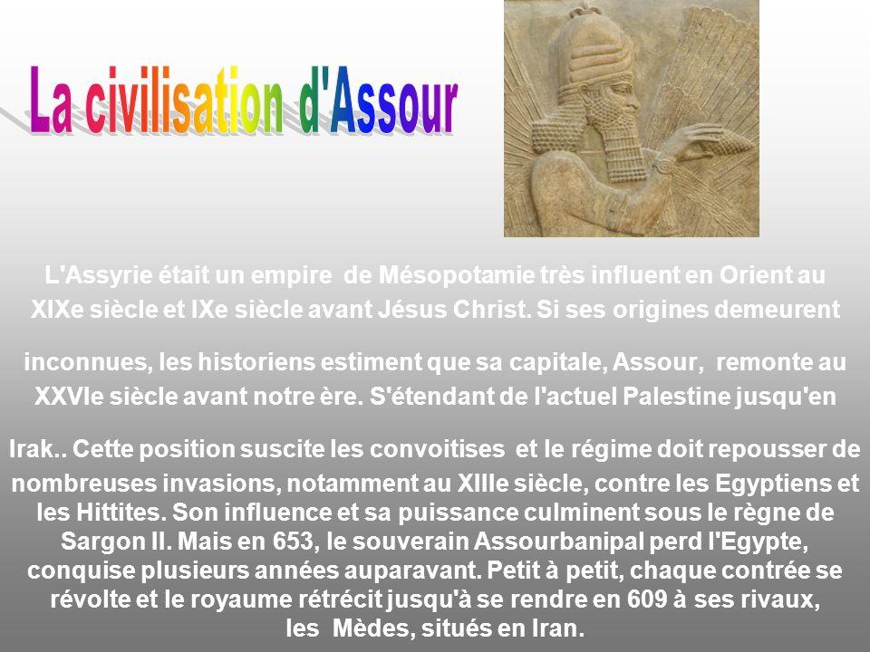 La civilisation d Assour