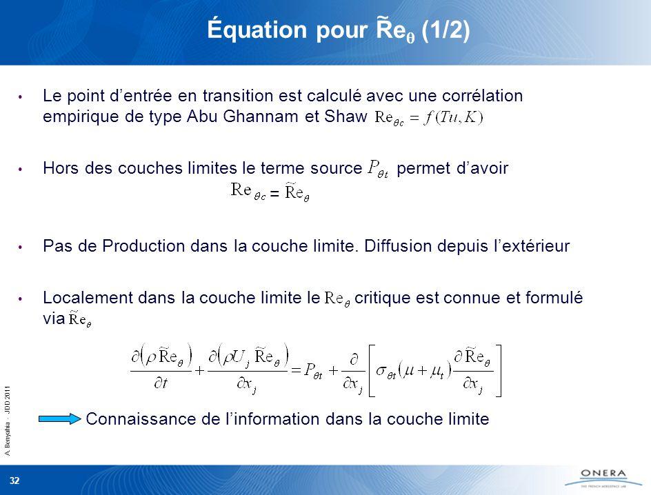 Équation pour Req (1/2) ~ =