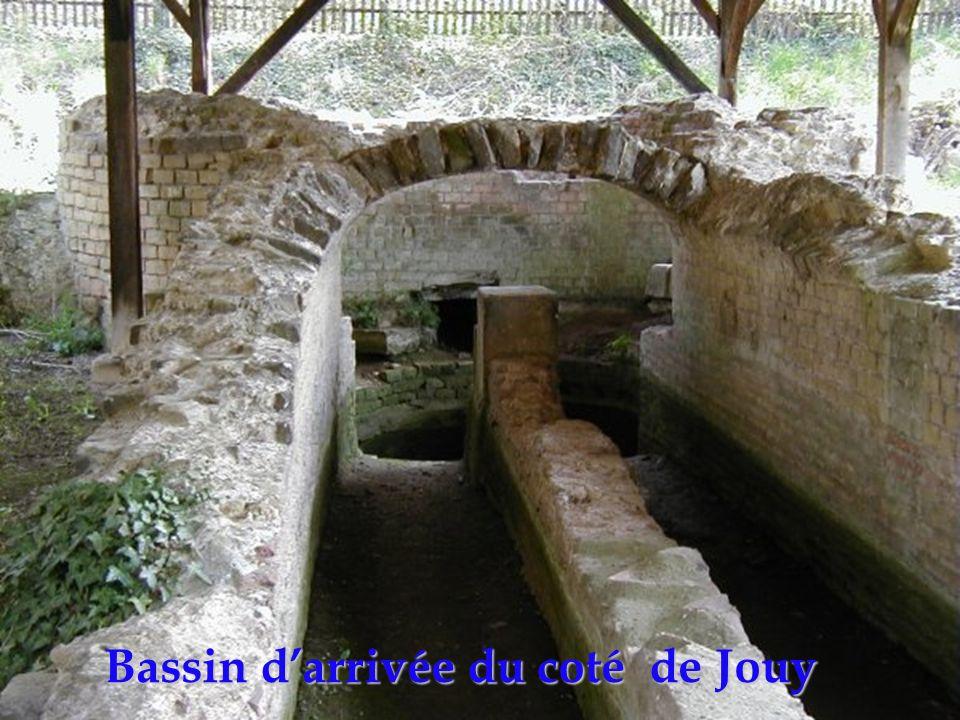 Bassin d'arrivée du coté de Jouy