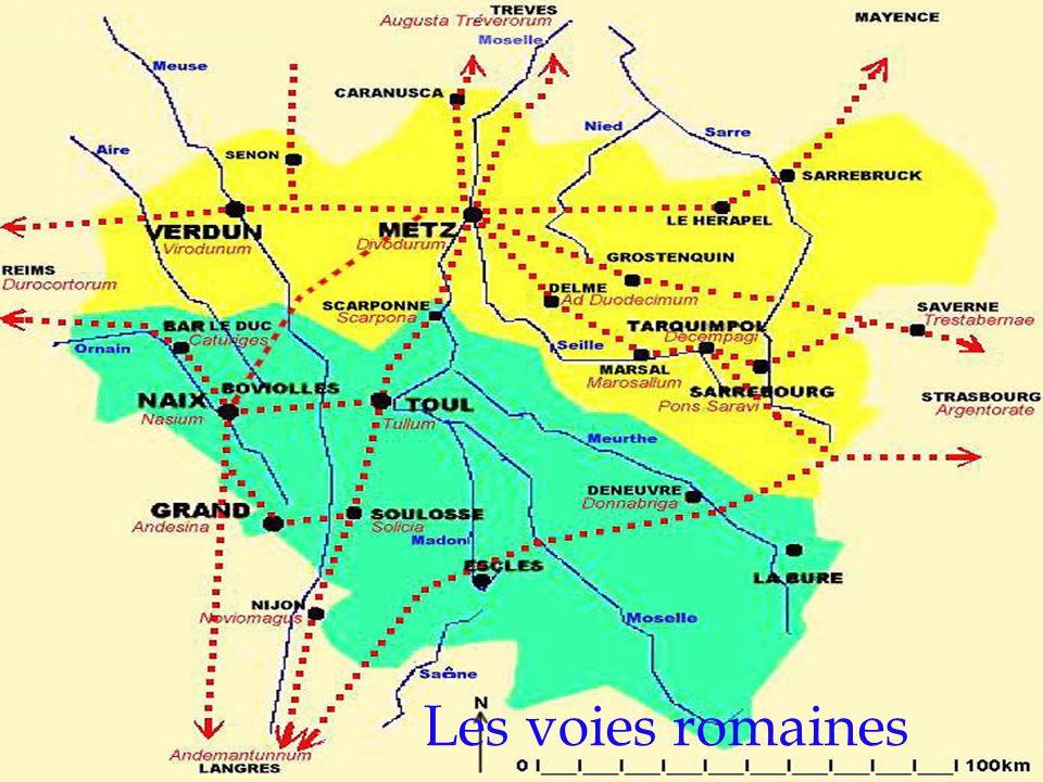 Les voies romaines