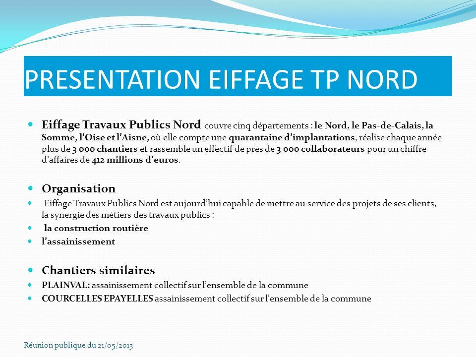 PRESENTATION EIFFAGE TP NORD