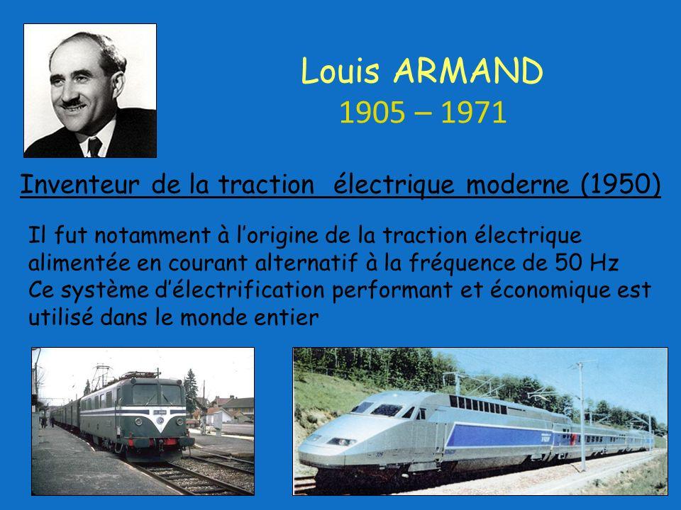 Inventeur de la traction électrique moderne (1950)