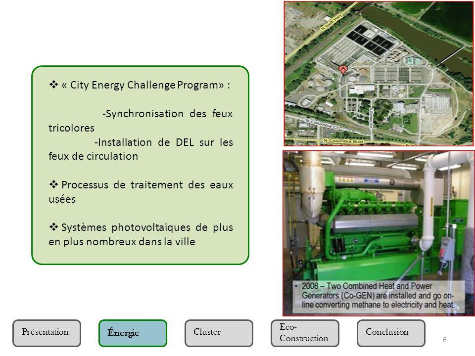 « City Energy Challenge Program» :
