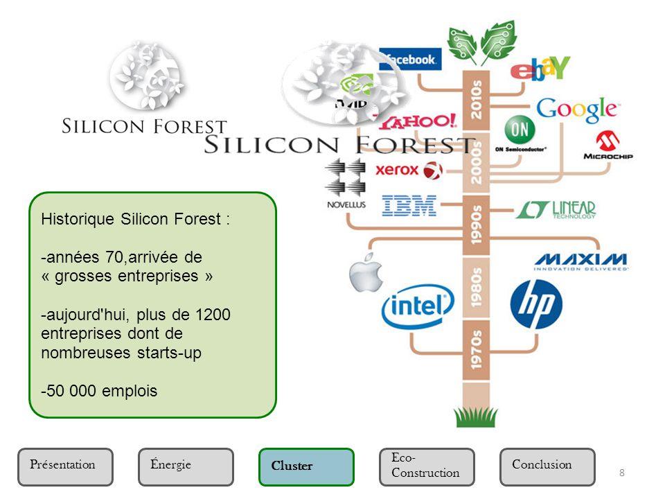 Historique Silicon Forest :